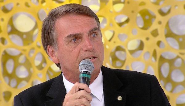 RedeTV News recebe o pré-candidato à Presidência, Jair Bolsonaro