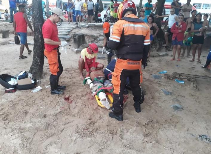Homem é atacado por tubarão em praia do Grande Recife