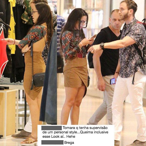 Assim como Marcos, Emilly oferece roupas que usou no 'BBB' aos fãs