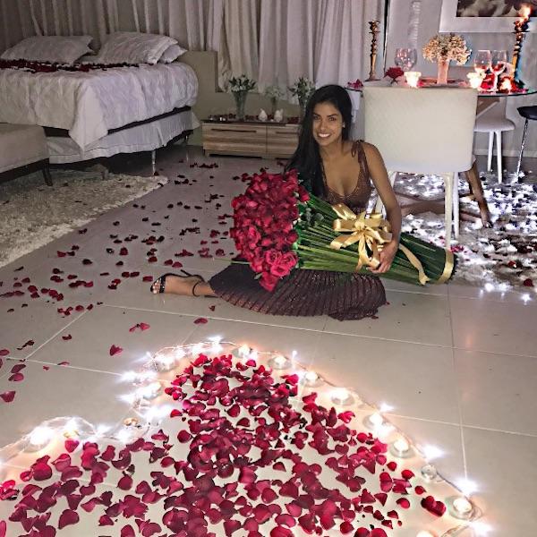 Fabuloso Ex-BBB Munik Nunes ganha surpresa romântica do noivo no  WH63