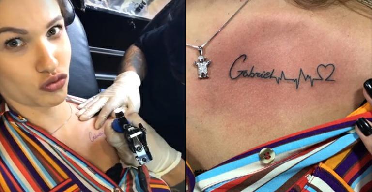 Andressa Suita Rebate Críticas Sobre Fazer Tatuagem