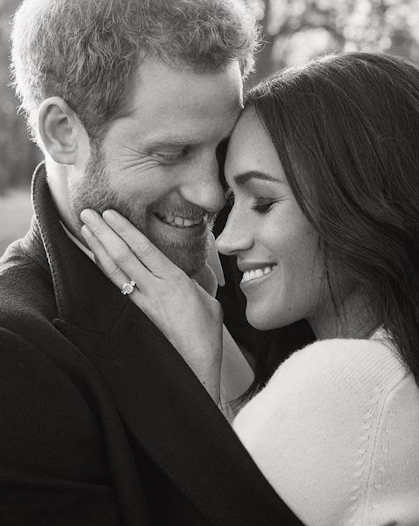 Príncipe Harry e Meghan Markle românticos em fotografias oficiais de noivado