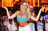 Famosos se esbaldam em ensaios pr�-Carnaval