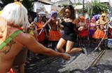 Carnaval do Rio: veja flagras dos foli�es nos blocos de rua
