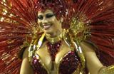 Famosos curtem desfile das campe�s do Rio