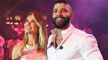 """Andressa Suita posta momento íntimo com Gusttavo Lima após """"maratona"""" de shows no Carnaval"""