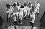 Gatas do rugby ficam nuas para campanha de ajuda a ONG