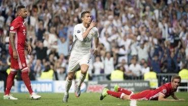 Cristiano Ronaldo iguala Messi ao marcar 9 gols contra uma mesma equipe na Liga dos Campeões