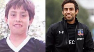 "Valdivia posta foto da infância e exalta volta ao Colo Colo: ""Espero seguir fazendo história"""