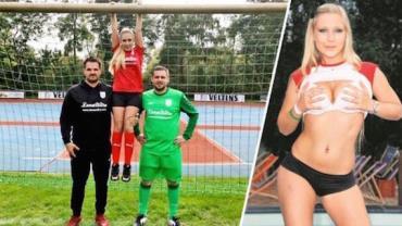 Time alemão anuncia atriz pornô como nova patrocinadora master