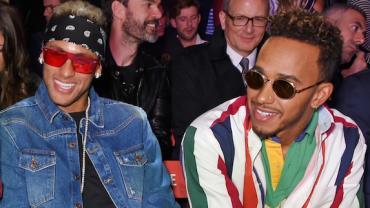 """De encontro arranjado a """"parça"""": como Neymar e Hamilton viraram """"irmãos de outra mãe"""""""