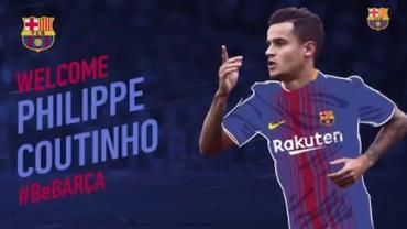 Coutinho fecha com o Barcelona e se torna o jogador mais caro da história do time
