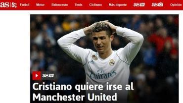 Cristiano Ronaldo quer voltar para o Manchester United, diz jornal