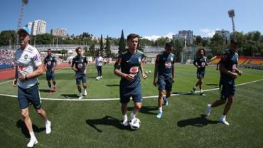 Copa da Rússia em 360º: Assista ao primeiro treino da seleção brasileira em Sochi
