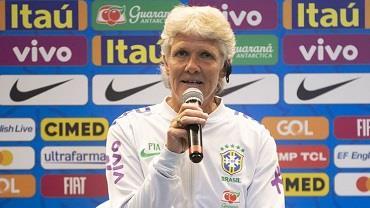 Pia Sundhage é a nova técnica da seleção feminina de futebol