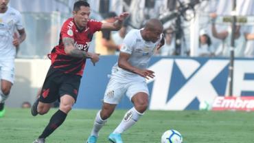Santos empata com Athletico reserva e vê Flamengo abrir vantagem no Brasileirão