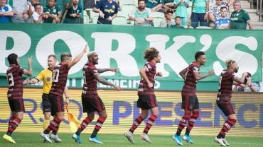 Flamengo vence Palmeiras por 3 a 1 no Allianz Parque