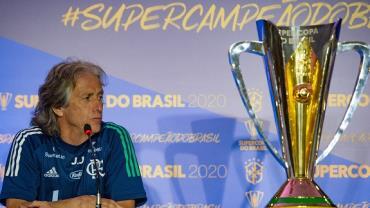 Jorge Jesus, técnico do Flamengo, testa positivo para coronavírus