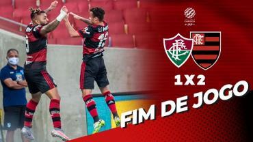 Flamengo vence Fluminense no primeiro jogo da final do Campeonato Carioca
