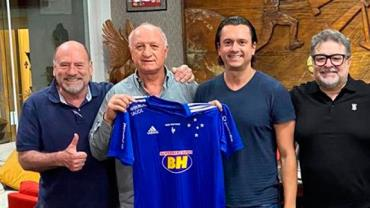 Cruzeiro anuncia Luiz Felipe Scolari como novo técnico