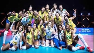 Brasil cai para China; segunda derrota do vôlei na Liga das Nações