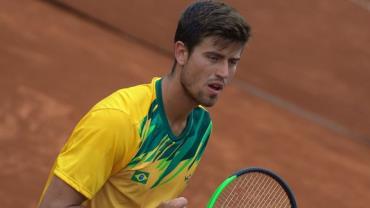 Thiago Monteiro, número 1 do tênis nacional, é confirmado em Tóquio