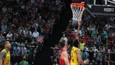 Brasil derrota Croácia e vai às semifinais Pré-Olímpico de Basquete