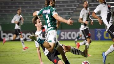 Goiás derrota Vasco e entra no G4 da Série B