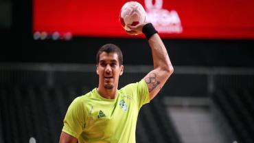 Brasil perde para Noruega na estreia no handebol masculino