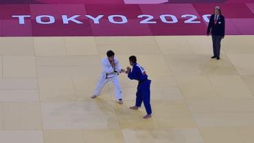 Eric Takabatake perde para sul-coreano na segunda rodada do judô