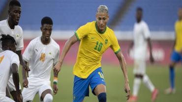Olimpíada: Brasil empata com Costa do Marfim no futebol masculino