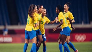 Futebol feminino vence Zâmbia e vai às quartas de final em Tóquio