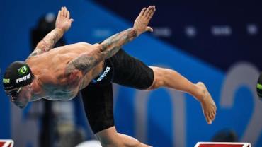 Olimpíada: Bruno Fratus alcança final dos 50 m livre da natação