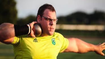 Darlan Romani alcança marca e garante vaga na final do arremesso de peso