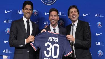 Lionel Messi inicia primeiros treinos no PSG