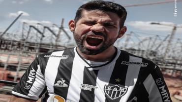 Atlético-MG apresenta oficialmente Diego Costa, que vestirá camisa 19