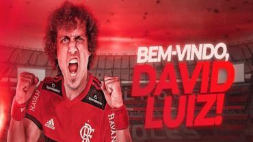 Flamengo anuncia a contratação de David Luiz