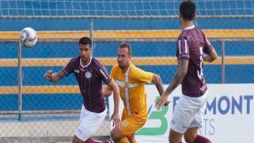 Série D: Brasiliense e Ferroviária ficam no 0 a 0 em jogo equilibrado