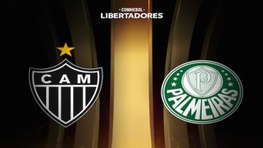 Atlético-MG e Palmeiras fazem jogo decisivo em busca da final da Libertadores