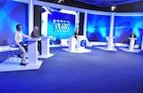 Veja fotos do debate RedeTV!/IG entre os candidatos ao governo do MG