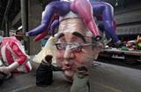 Carnaval na Fran�a prepara homenagem a pol�ticos e personalidades da m�sica