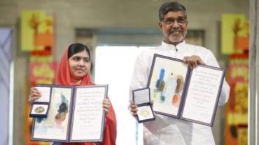 Malala recebe prêmio Nobel da Paz em cerimônia na Noruega