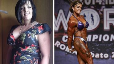 Após gravidez, mulher perde 50 kg e vira campeã mundial de fisiculturismo