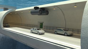 Noruega estuda construir o primeiro túnel submarino flutuante do mundo