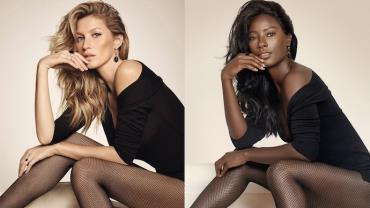 Modelo negra recria ensaios para mostrar falta de representatividade no mundo da moda