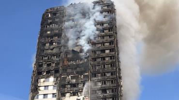 Moradores apontam falhas em operação de resgate em incêndio em Londres