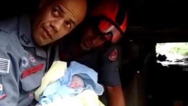 Bombeiros ajudam moradora de rua a dar à luz sob viaduto em SP