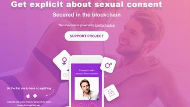 Aplicativo tenta evitar o sexo sem consentimento