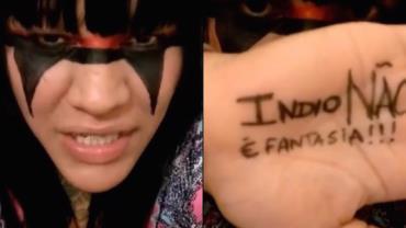 """Ativista pede fim das fantasias de índio no Carnaval: """"é racismo"""""""