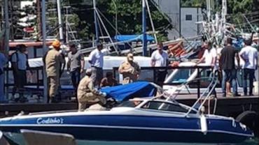 Condutor de lancha que atropelou banhistas em Ilha Grande é liberado após fiança